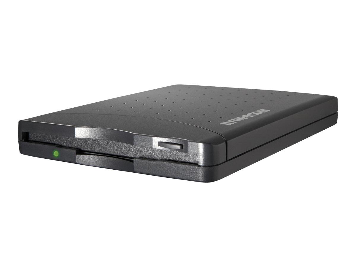 Freecom - Laufwerk - Diskette (1.44 MB) - USB - extern - Schwarz