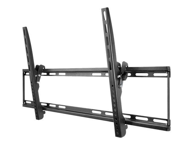 Goobay TV EasyFlex Slim XL - Befestigungskit (Kippbare Wandhalterung) für Flachbildschirm - Schwarz - Bildschirmgrösse: 94-177.8