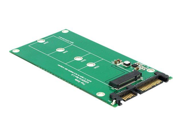 DeLOCK Converter SATA 22 pin > M.2 NGFF - SATA-Adapter - SATA Combo bis Key M-Steckplatz, 67-polig