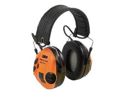 3M Peltor SportTac MT16H210F-478-GN - Headset - Full-Size - kabelgebunden - orange, Olivgrün