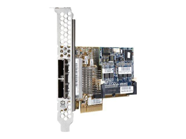 HPE Smart Array P421/1GB with FBWC - Speichercontroller (RAID) - 8 Sender/Kanal - SATA 6Gb/s / SAS 6Gb/s Low-Profile - 6 Gbit/s