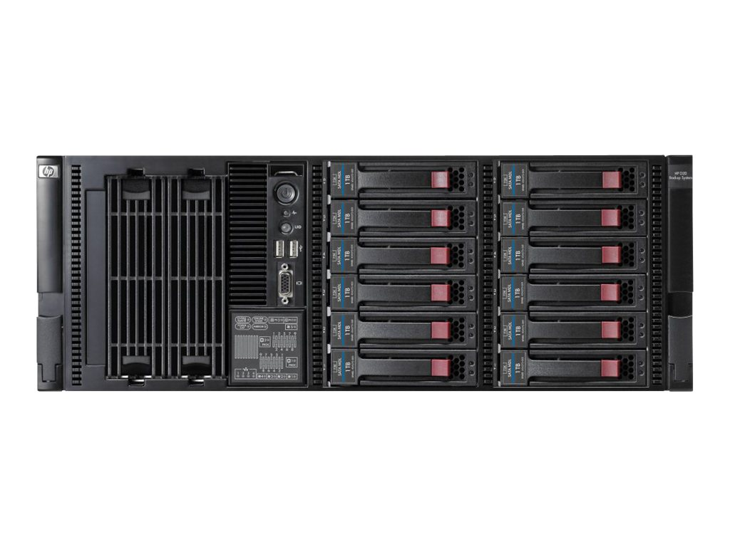 HPE StorageWorks D2D4312 Backup System - NAS-Server - 50 Schächte - 12 TB - Rack - einbaufähig