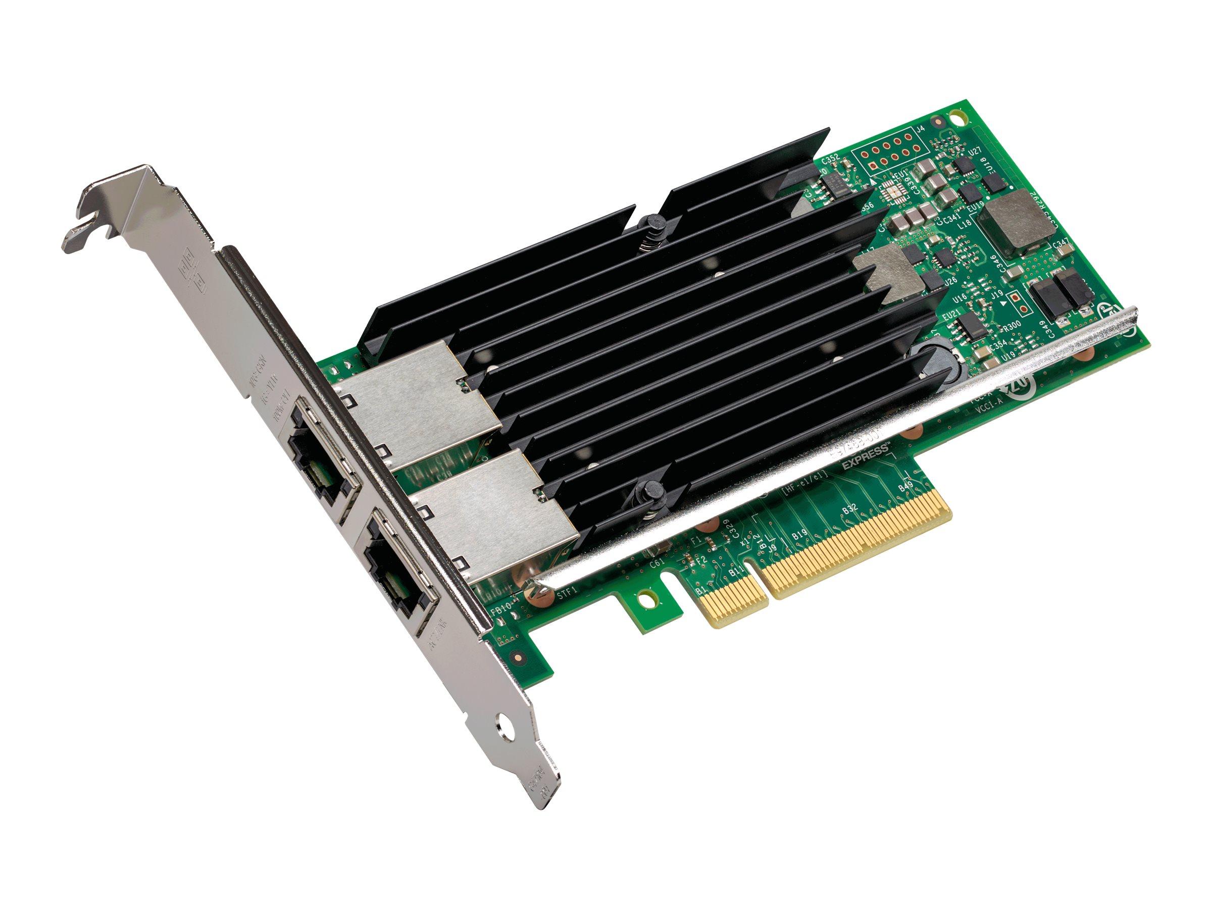Intel Ethernet Converged Network Adapter X540-T2 - Netzwerkadapter - PCIe 2.1 x8 Low-Profile - 10Gb Ethernet x 2