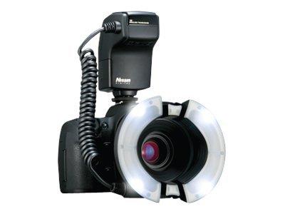 Nissin MF 18 - Ringförmiger Makroblitz - 16 (m) - für Nikon D300, D3000, D3100, D3200, D3s, D3X, D4, D5000, D5100, D60, D700, D7
