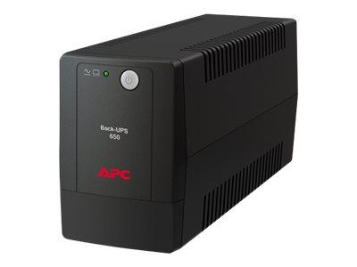 APC Back-UPS BX650LI - USV - Wechselstrom 230 V - 325 Watt - 650 VA - Ausgangsanschlüsse: 4