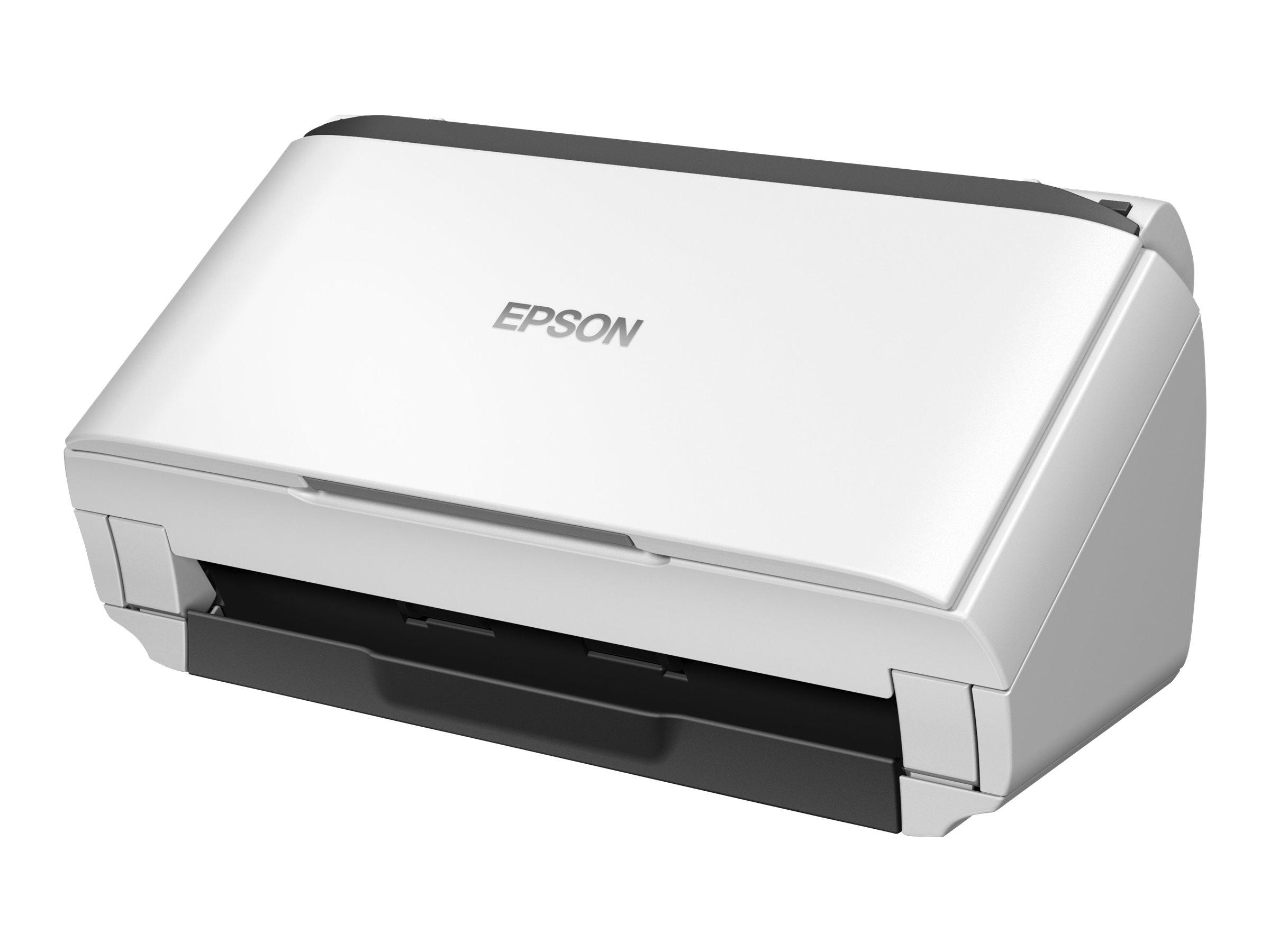 Epson WorkForce DS-410 - Dokumentenscanner - Duplex - A4/Legal - 600 dpi x 600 dpi - bis zu 26 Seiten/Min. (einfarbig) / bis zu