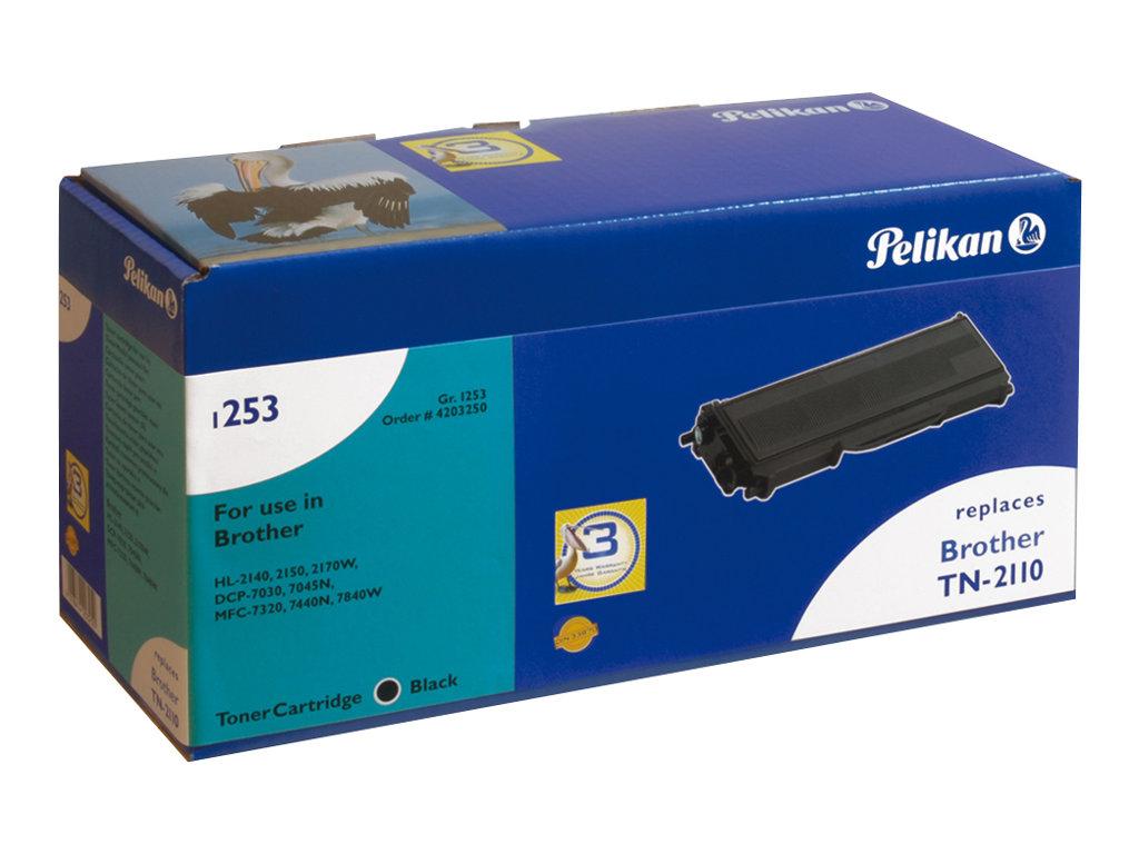 Pelikan 1253SR - Schwarz - Tonerpatrone (Alternative zu: Brother TN2110) - für Brother DCP-7030, 7040, 7045, HL-2140, 2150, 2170