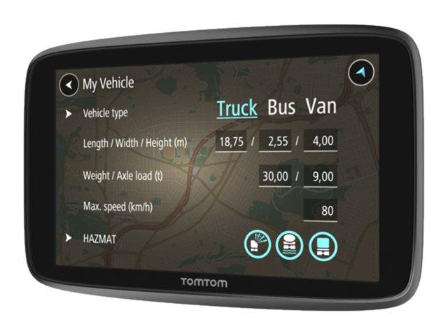 TomTom GO Professional 6250 - GPS-Navigationsgerät - Kfz 6 Zoll