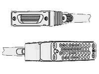 Cisco - V.35-Kabel (DTE) - DB-60 (M) bis M/34 (V.35) (M) - 3 m - abgeschirmt - für Cisco 16XX, 25XX, 36XX, 4000, 4800, 70XX, 71X
