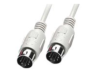 Lindy - MIDI-Kabel - DIN 5-polig (M) bis DIN 5-polig (M) - 5 m - geformt