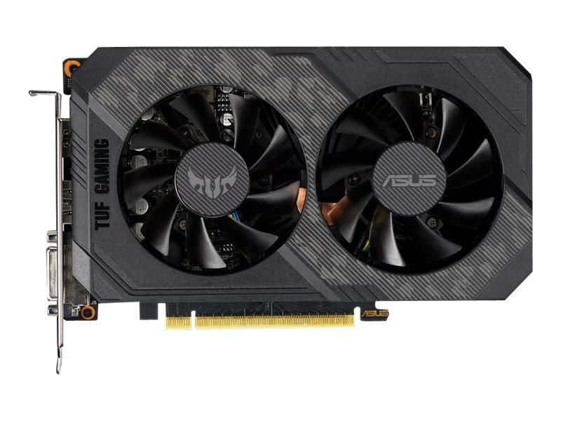 ASUS TUF-GTX1660TI-O6G-GAMING - OC Edition - Grafikkarten - GF GTX 1660 Ti - 6 GB GDDR6 - PCIe 3.0 x16