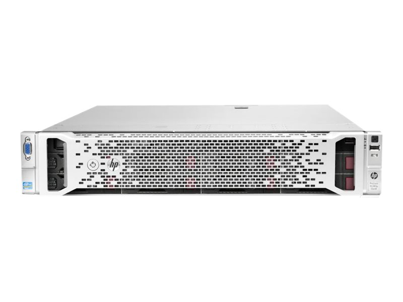 HPE ProLiant DL380p Gen8 - Server - Rack-Montage - 2U - zweiweg - 2 x Xeon E5-2650V2 / 2.6 GHz
