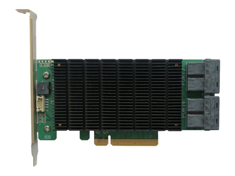 HighPoint RocketRAID 3740C - Speichercontroller (RAID) - 16 Sender/Kanal - SATA 6Gb/s / SAS 12Gb/s Low-Profile - 12 Gbit/s - RAI