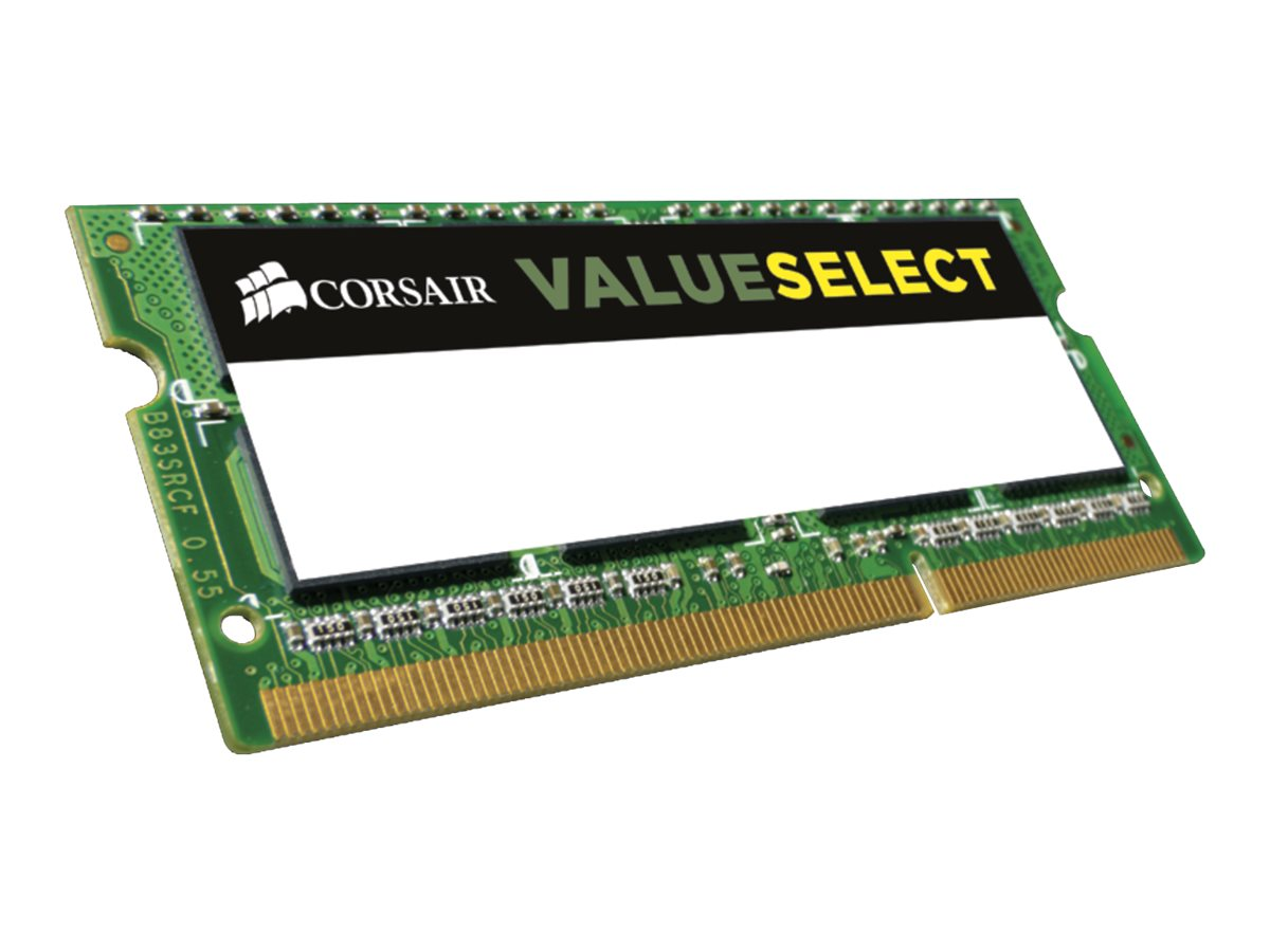 CORSAIR Value Select - DDR3L - 4 GB - SO DIMM 204-PIN - 1600 MHz / PC3-12800 - CL11