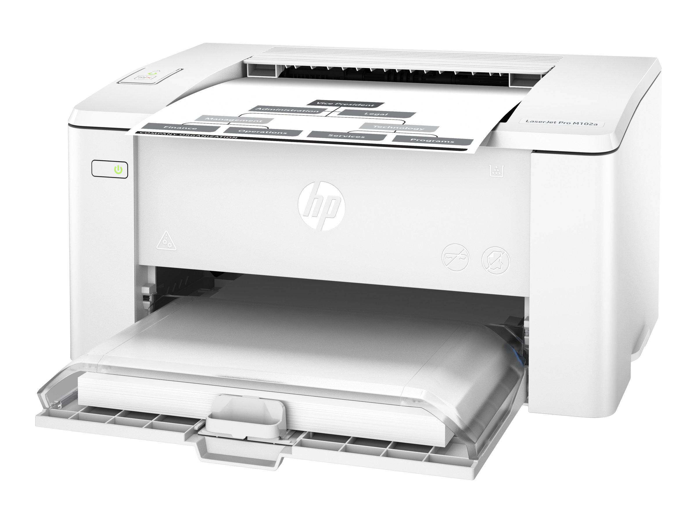 HP LaserJet Pro M102a - Drucker - monochrom - Laser - A4/Legal - 1200 dpi