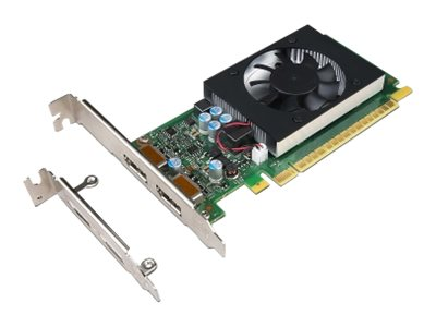 NVIDIA GeForce GT730 - Grafikkarten - GF GT 730 - 2 GB GDDR5 - PCIe 2.0 x8 Low-Profile - DisplayPort