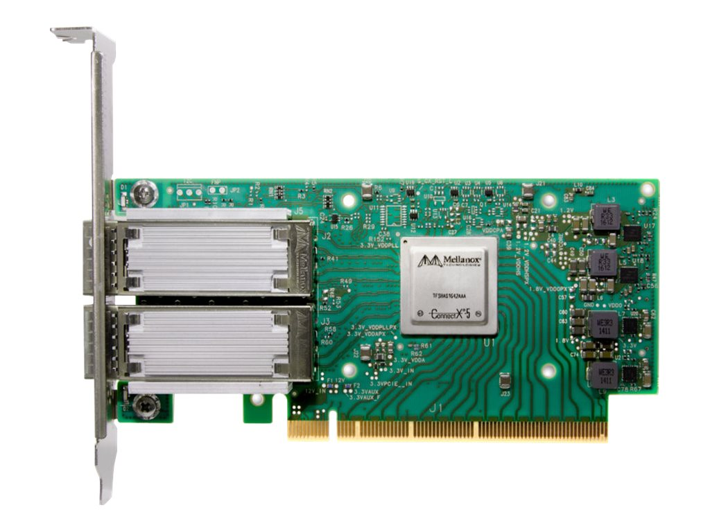 Lenovo ThinkSystem Mellanox ConnectX-5 Ex Low-Latency - Netzwerkadapter - PCIe 4.0 x16 Low-Profile - Gigabit Ethernet / 10Gb Eth