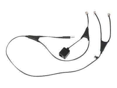 Jabra Alcatel-Lucent EHS Adapter - Headsetadapter - für Jabra GN 9120, GN9120, GN9330e, GN9350, GN9350e; GO 6430, 6470