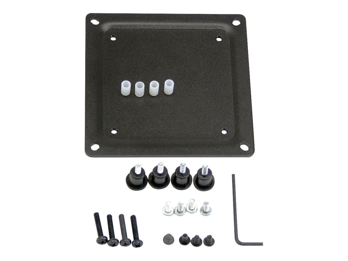 Ergotron - Montagekomponente (Konvertierungsplatte) für Monitor - Stahl - Schwarz