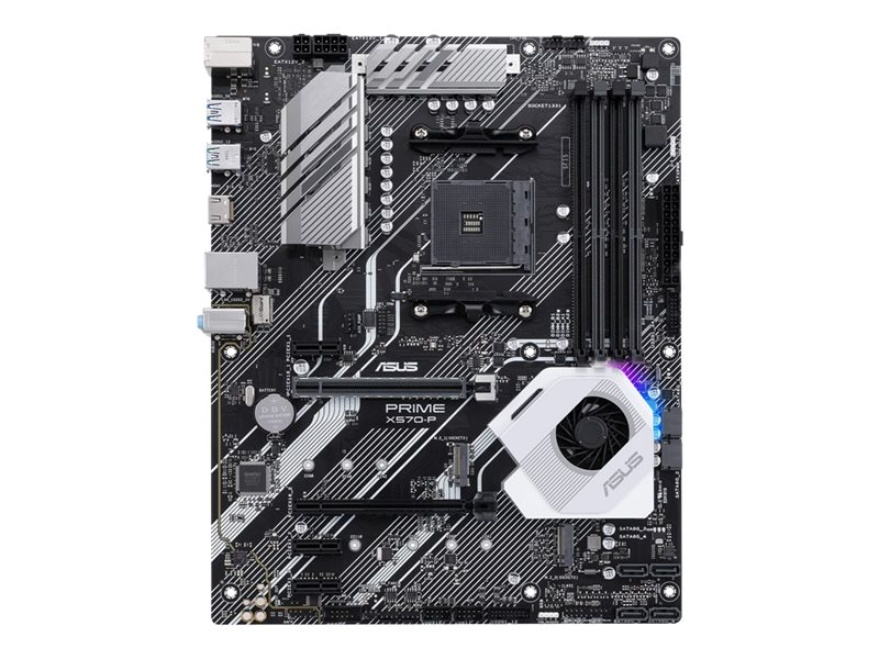 ASUS PRIME X570-P - Motherboard - ATX - Socket AM4 - AMD X570 - USB 3.2 Gen 1, USB 3.2 Gen 2