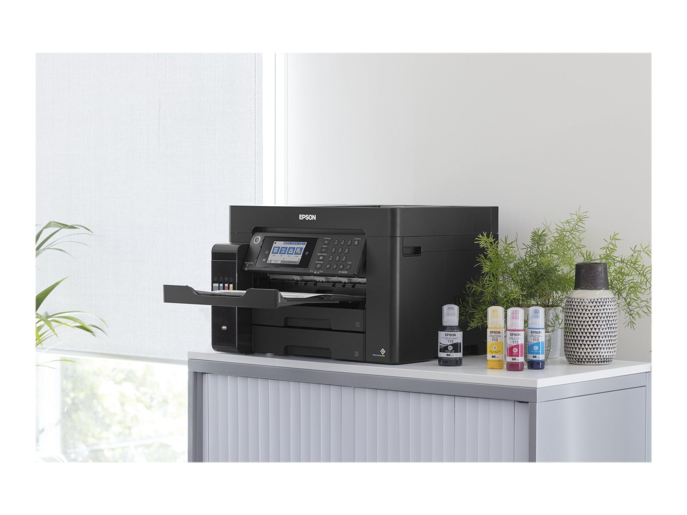 Epson EcoTank ET-16650 - Multifunktionsdrucker - Farbe - Tintenstrahl - A3 plus (311 x 457 mm) (Original) - A3 (Medien)