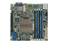 SUPERMICRO X10SDV-4C-TLN2F - Motherboard - Mini-ITX - Intel Xeon D-1521 - USB 3.0 - 2 x 10 Gigabit LAN