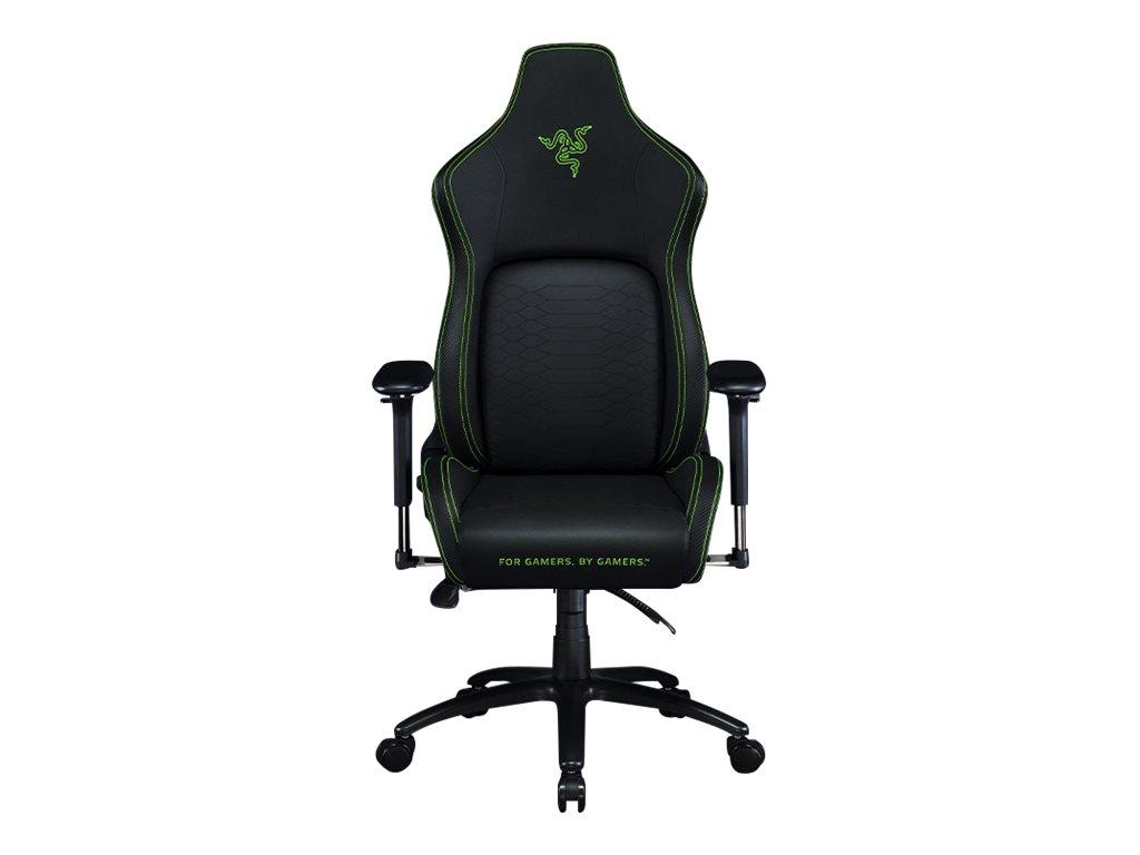 Razer Iskur - Stuhl - ergonomisch - Liegesessel - Armlehnen - Neigen