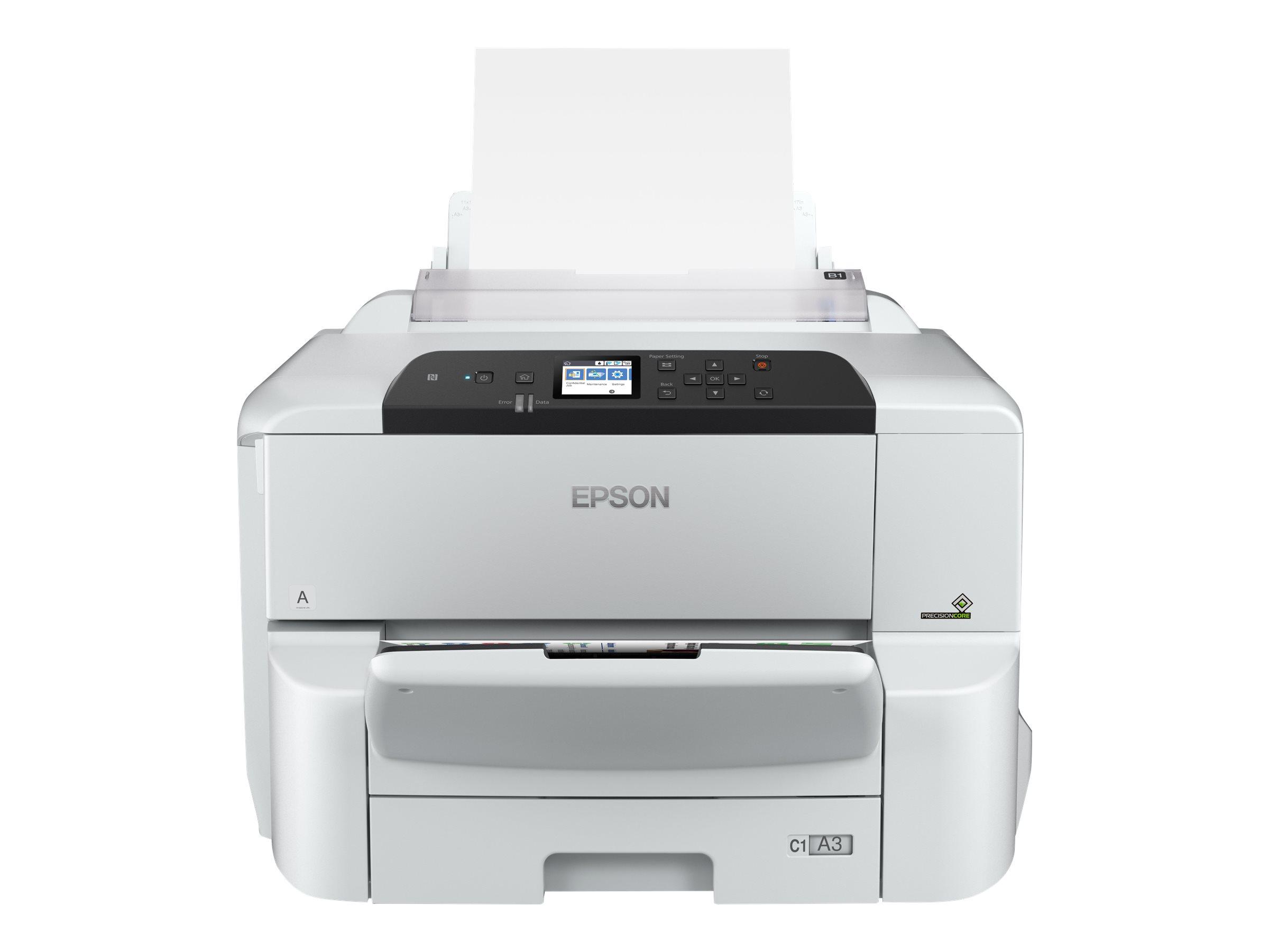 Epson WorkForce Pro WF-C8190DW - Drucker - Farbe - Duplex - Tintenstrahl - A3