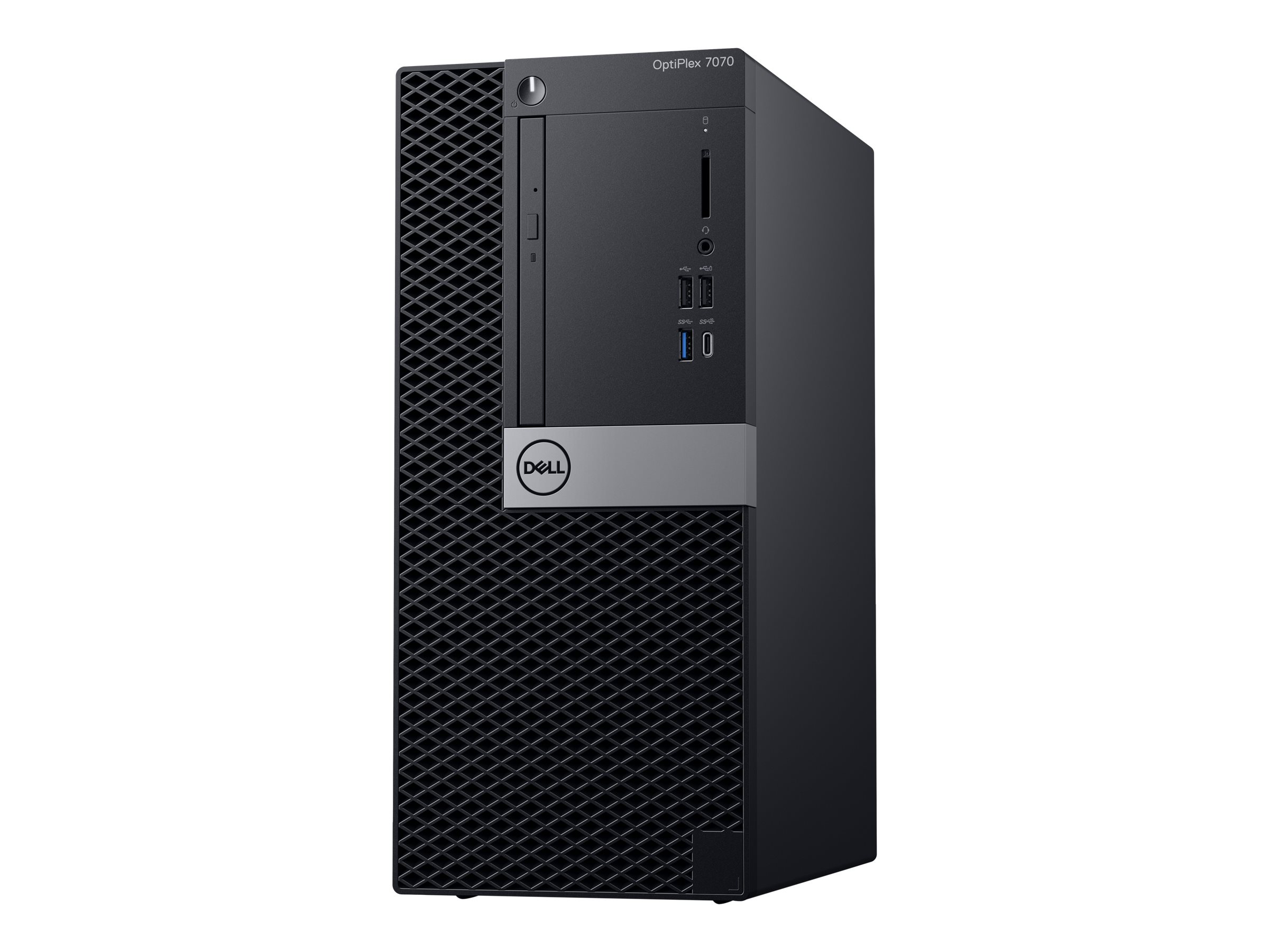 Dell OptiPlex 7070 - MT - 1 x Core i7 9700 / 3 GHz - RAM 16 GB - SSD 512 GB - DVD-Writer
