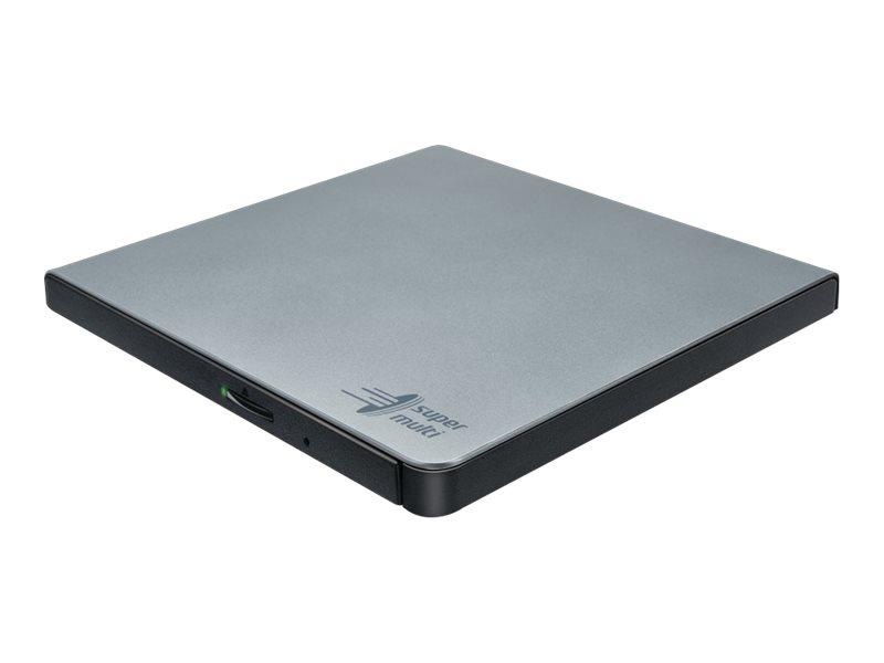 Hitachi-LG Data Storage GP57ES40 - Laufwerk - DVD±RW (±R DL) / DVD-RAM - 8x/6x/5x - USB 2.0 - extern
