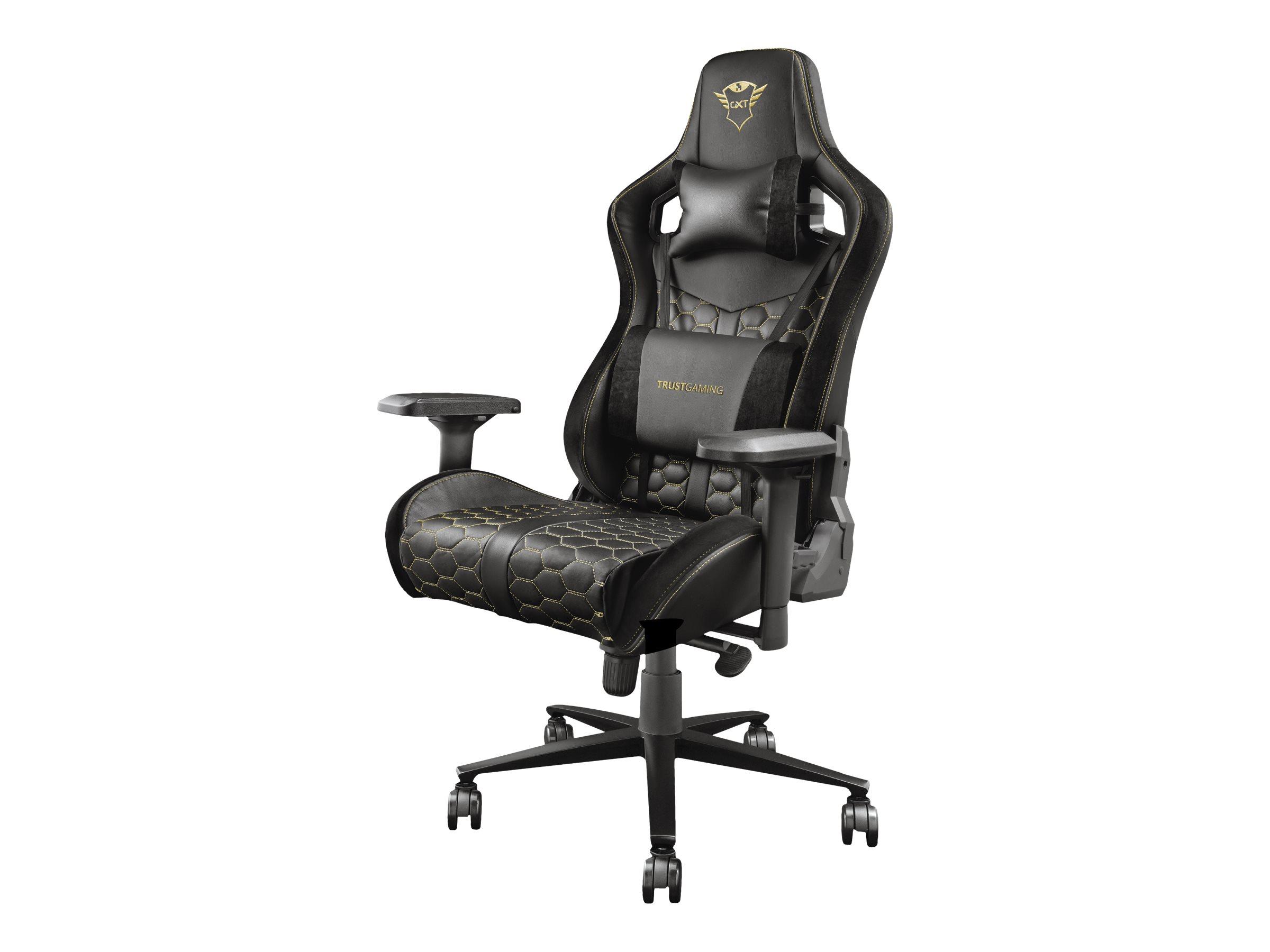Trust Gaming GXT 712 Resto Pro - Stuhl - ergonomisch - Armlehnen - Neigen - Drehgelenk