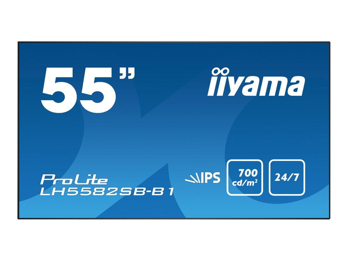 iiyama ProLite LH5582SB-B1 - 139.7 cm (55