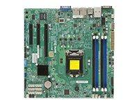 SUPERMICRO X10SLM+-F - Motherboard - micro ATX - LGA1150-Sockel - C224 - USB 3.0