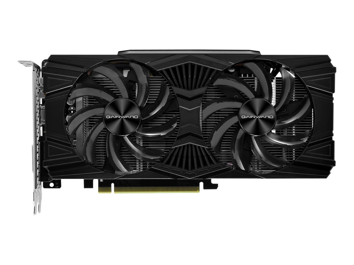 Gainward GeForce GTX 1660 Ghost OC - Grafikkarten - GF GTX 1660 - 6 GB GDDR5 - PCIe 3.0 x16 - DVI, HDMI, DisplayPort