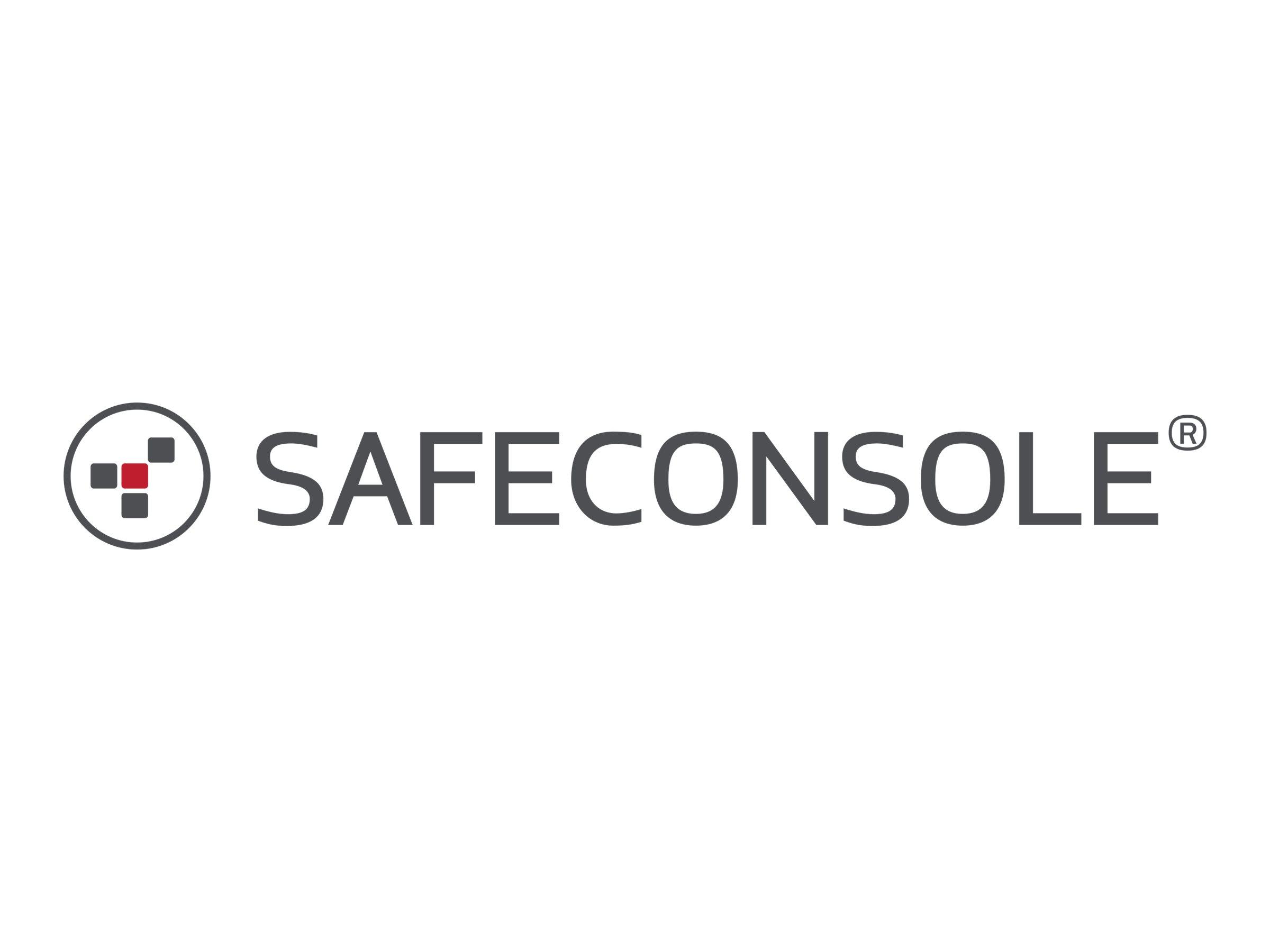 SafeConsole Cloud - Device License (1 Jahr) - gehostet - Basislizenz erforderlich