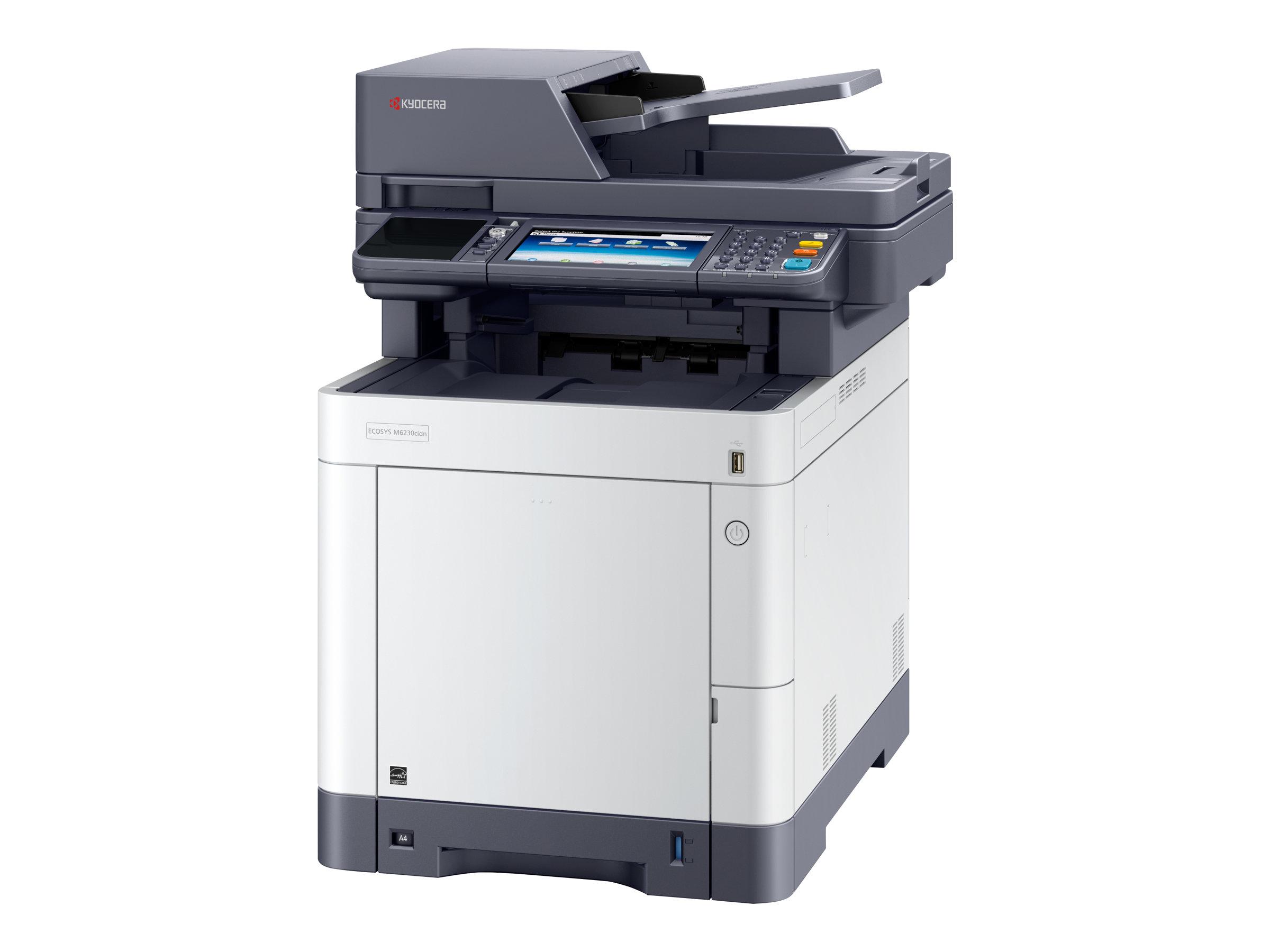 Kyocera ECOSYS M6230cidn - Multifunktionsdrucker - Farbe - Laser - Legal (216 x 356 mm)/A4 (210 x 297 mm) (Original) - A4/Legal