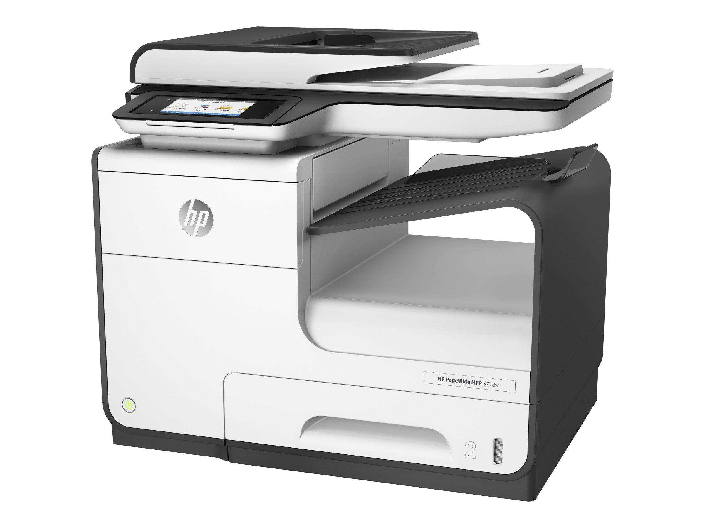 HP PageWide MFP 377dw - Multifunktionsdrucker - Farbe - seitenbreite Palette - Legal (216 x 356 mm) (Original) - A4/Legal (Medie