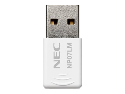 NEC NP07LM - Netzwerkadapter - USB - 802.11b/g/n - für NEC L102W LED