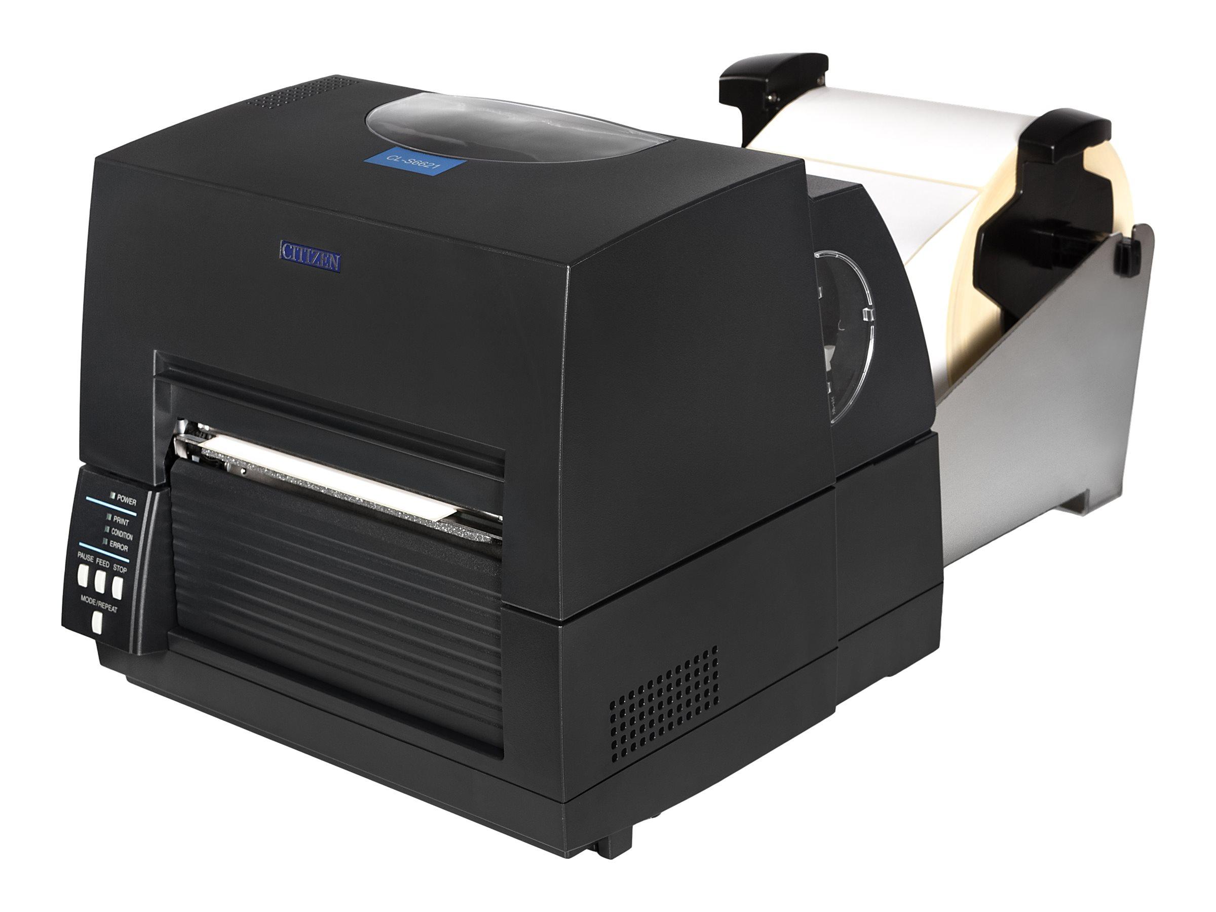 Citizen CL-S6621XL - Etikettendrucker - TD/TT - Rolle (17,8 cm) - 203 dpi - bis zu 150 mm/Sek.