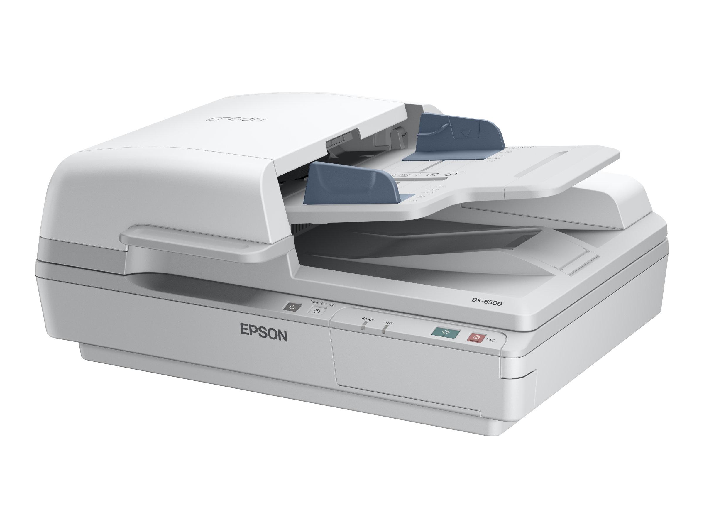 Epson WorkForce DS-7500 - Dokumentenscanner - Duplex - A4 - 1200 dpi x 1200 dpi - bis zu 40 Seiten/Min. (einfarbig) / bis zu 40