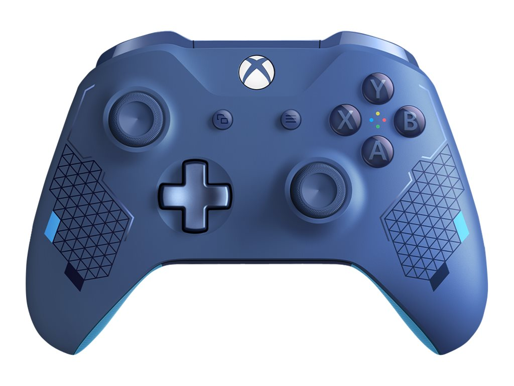 Microsoft Xbox Wireless Controller - Sport Blue Special Edition - Game Pad - kabellos - Bluetooth - Vibrant Blue