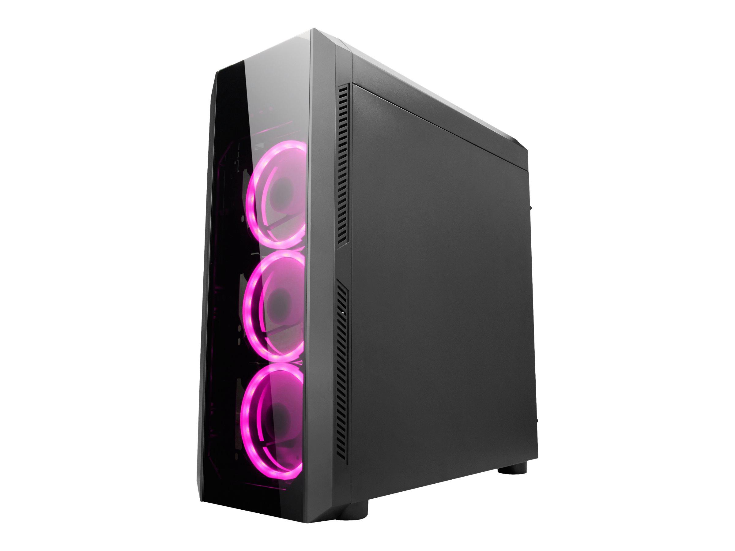 Chieftec Gamer Series SCORPION II - Tower - ATX - ohne Netzteil (ATX) - Schwarz - USB/Audio