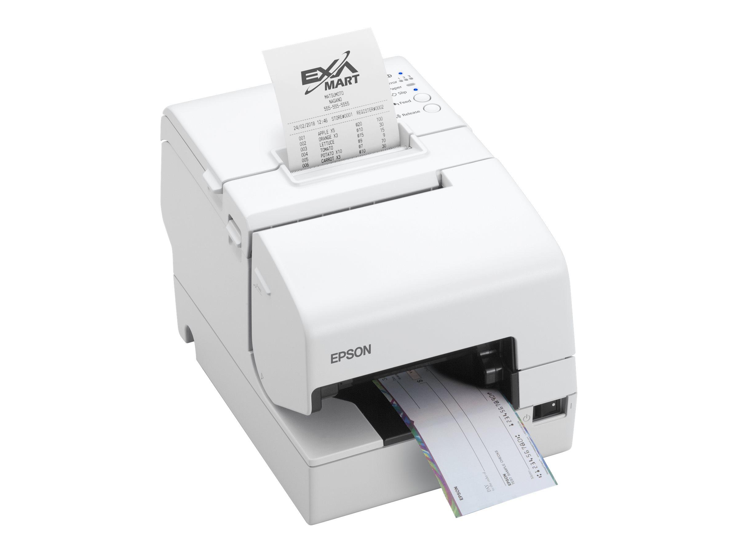 Epson TM H6000V - Belegdrucker - Thermozeile/Punktmatrix - 230 x 297 mm, Rolle (7,95 cm) - 180 x 180 dpi - 9 Pin