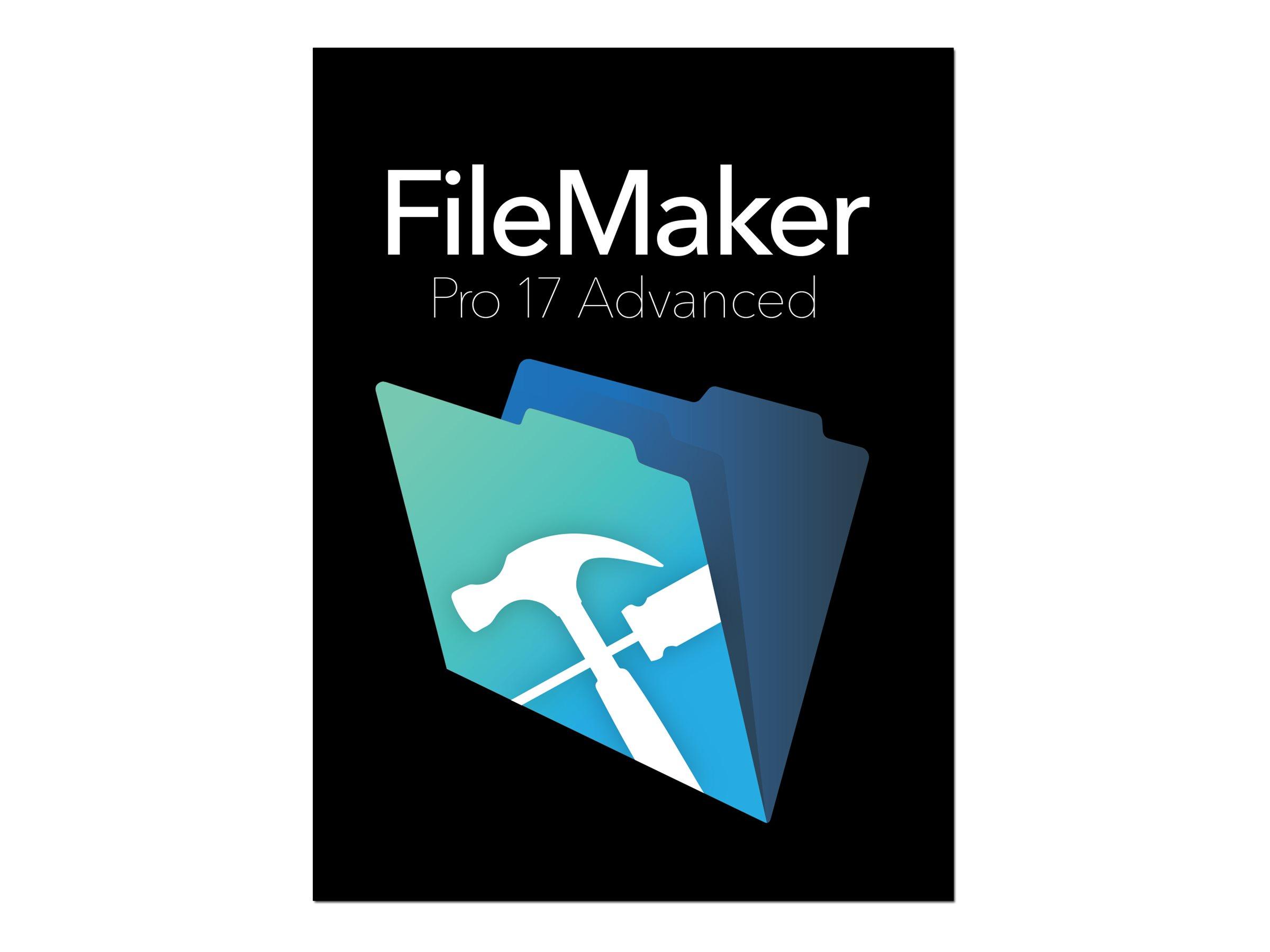 FileMaker Pro Advanced - (v. 17) - Box-Pack - Win, Mac