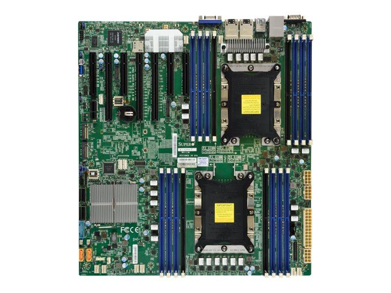 SUPERMICRO X11DPH-I - Motherboard - Erweitertes ATX - Socket P - 2 Unterstützte CPUs - C621