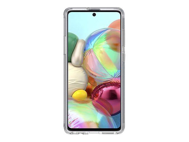 OtterBox Symmetry Series Clear - Hintere Abdeckung für Mobiltelefon - Polycarbonat, Kunstfaser - klar - für Samsung Galaxy A71