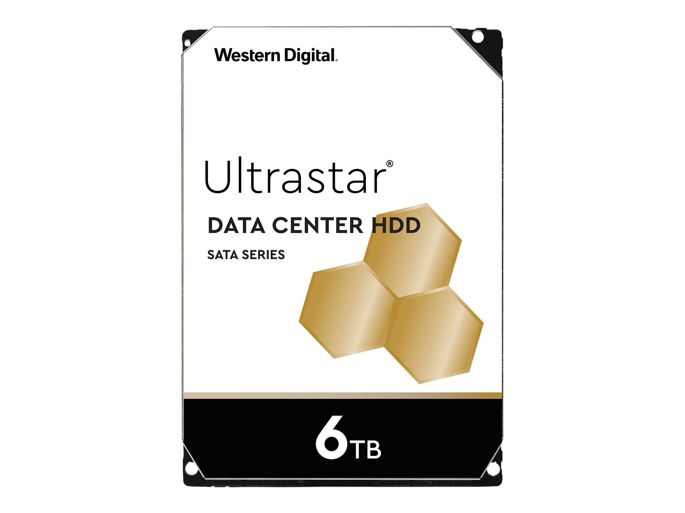 WD Ultrastar DC HC310 HUS726T6TALE6L4 - Festplatte - 6 TB - intern - 3.5