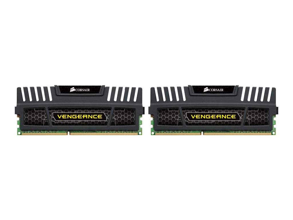 CORSAIR Vengeance - DDR3 - 8 GB: 2 x 4 GB - DIMM 240-PIN - 1600 MHz / PC3-12800 - CL9