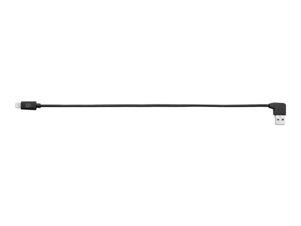 Kensington Charge & Sync Cable - Lightning-Kabel - USB (M) bis Lightning (M) - 20 cm - Schwarz (Packung mit 5) - für Apple iPad/