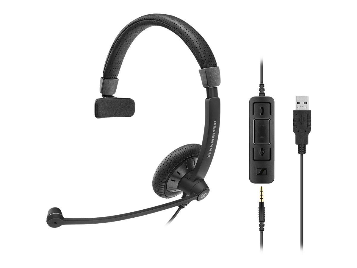 Sennheiser SC 45 USB MS - Culture Plus Mobile - Headset - On-Ear - kabelgebunden - Schwarz